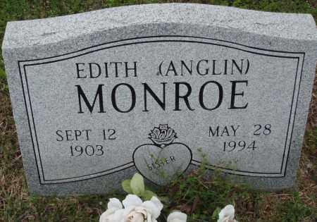 MONROE, EDITH - Baxter County, Arkansas   EDITH MONROE - Arkansas Gravestone Photos