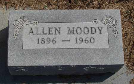 MOODY, ALLEN - Baxter County, Arkansas | ALLEN MOODY - Arkansas Gravestone Photos