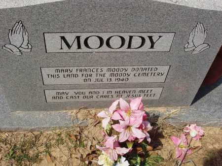 *, MOODY CEMETERY MEMORIAL - Baxter County, Arkansas | MOODY CEMETERY MEMORIAL * - Arkansas Gravestone Photos