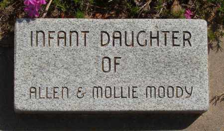 MOODY, INFANT DAUGHTER - Baxter County, Arkansas | INFANT DAUGHTER MOODY - Arkansas Gravestone Photos