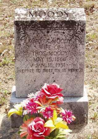 MOODY, MARY A - Baxter County, Arkansas | MARY A MOODY - Arkansas Gravestone Photos