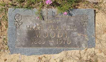 MOODY (2), MARY FRANCES - Baxter County, Arkansas | MARY FRANCES MOODY (2) - Arkansas Gravestone Photos