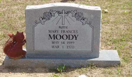 MOODY, MARY FRANCES - Baxter County, Arkansas | MARY FRANCES MOODY - Arkansas Gravestone Photos
