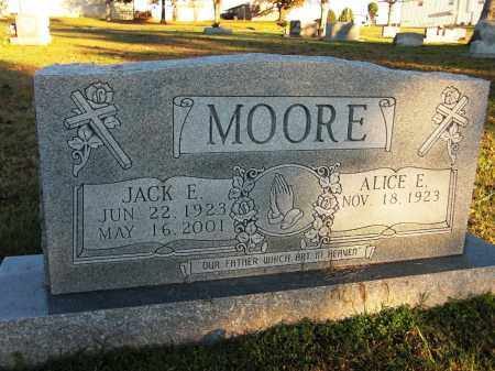 MOORE, ALICE E. - Baxter County, Arkansas | ALICE E. MOORE - Arkansas Gravestone Photos