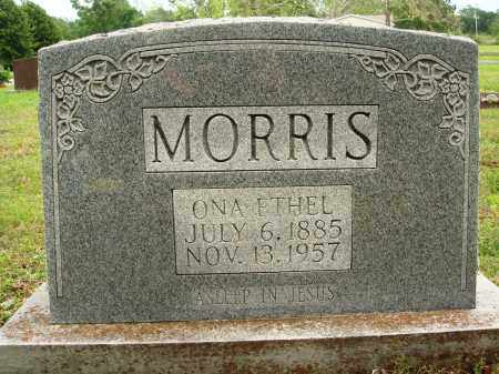 MORRIS, ONA ETHEL - Baxter County, Arkansas | ONA ETHEL MORRIS - Arkansas Gravestone Photos