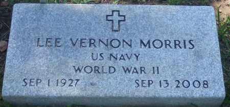 MORRIS (VETERAN WWII), LEE VERNON - Baxter County, Arkansas | LEE VERNON MORRIS (VETERAN WWII) - Arkansas Gravestone Photos