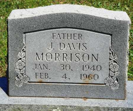 MORRISON, J DAVIS - Baxter County, Arkansas   J DAVIS MORRISON - Arkansas Gravestone Photos