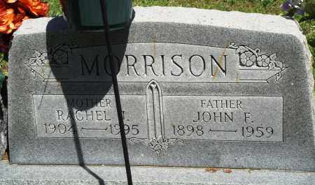 MORRISON, RACHEL J - Baxter County, Arkansas | RACHEL J MORRISON - Arkansas Gravestone Photos