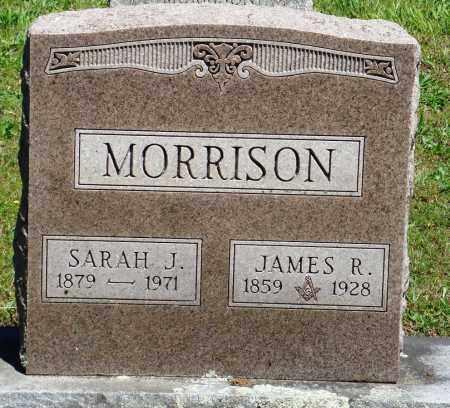 MORRISON, SARAH J - Baxter County, Arkansas | SARAH J MORRISON - Arkansas Gravestone Photos