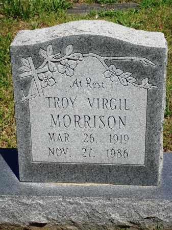 MORRISON, TROY VIRGIL - Baxter County, Arkansas   TROY VIRGIL MORRISON - Arkansas Gravestone Photos