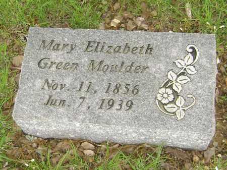 GREEN MOULDER, MARY ELIZABETH - Baxter County, Arkansas   MARY ELIZABETH GREEN MOULDER - Arkansas Gravestone Photos