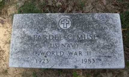 MUSE  (VETERAN WWII), PARDEE C. - Baxter County, Arkansas   PARDEE C. MUSE  (VETERAN WWII) - Arkansas Gravestone Photos