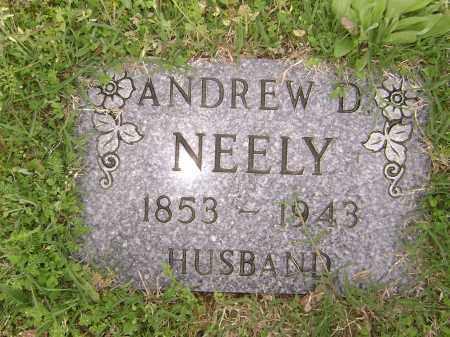 NEELY, ANDREW D. - Baxter County, Arkansas | ANDREW D. NEELY - Arkansas Gravestone Photos