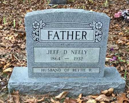 NEELY, JEFF D. - Baxter County, Arkansas   JEFF D. NEELY - Arkansas Gravestone Photos
