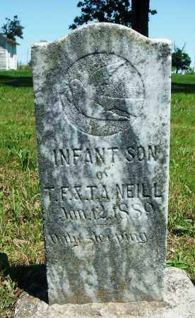NEILL, INFANT SON - Baxter County, Arkansas | INFANT SON NEILL - Arkansas Gravestone Photos