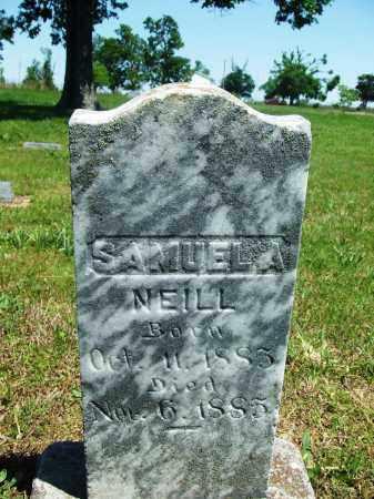 NEILL, SAMUEL A - Baxter County, Arkansas | SAMUEL A NEILL - Arkansas Gravestone Photos