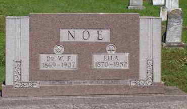 NOE, DR., W. F. - Baxter County, Arkansas | W. F. NOE, DR. - Arkansas Gravestone Photos