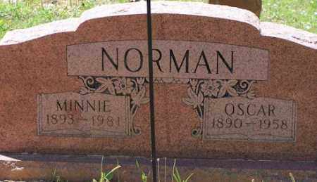NORMAN, MINNIE - Baxter County, Arkansas | MINNIE NORMAN - Arkansas Gravestone Photos