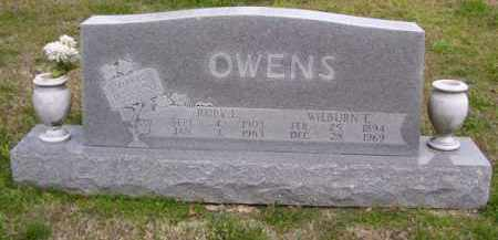 OWENS, WILBURN E. - Baxter County, Arkansas   WILBURN E. OWENS - Arkansas Gravestone Photos