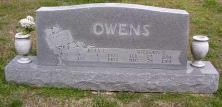 OWENS, RUBY ELIZABETH - Baxter County, Arkansas   RUBY ELIZABETH OWENS - Arkansas Gravestone Photos