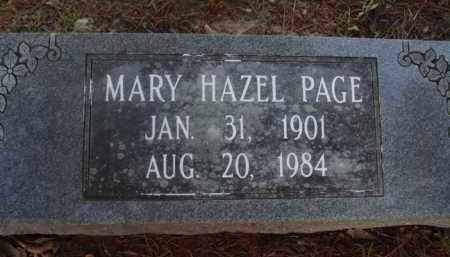 PAGE, MARY HAZEL - Baxter County, Arkansas | MARY HAZEL PAGE - Arkansas Gravestone Photos