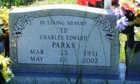 "PARKS, CHARLES EDWARD ""ED"" - Baxter County, Arkansas | CHARLES EDWARD ""ED"" PARKS - Arkansas Gravestone Photos"