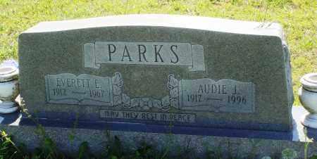 PARKS, AUDIE J - Baxter County, Arkansas   AUDIE J PARKS - Arkansas Gravestone Photos