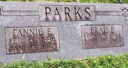 BOATMAN PARKS, FANNIE E. - Baxter County, Arkansas | FANNIE E. BOATMAN PARKS - Arkansas Gravestone Photos