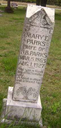 PARKS, MARY E. - Baxter County, Arkansas | MARY E. PARKS - Arkansas Gravestone Photos