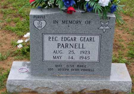 PARNELL, EDGAR GEARL - Baxter County, Arkansas   EDGAR GEARL PARNELL - Arkansas Gravestone Photos