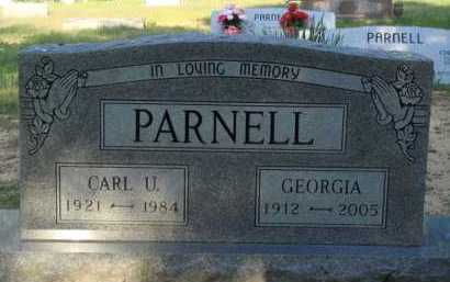 PARNELL, CARL U. - Baxter County, Arkansas | CARL U. PARNELL - Arkansas Gravestone Photos