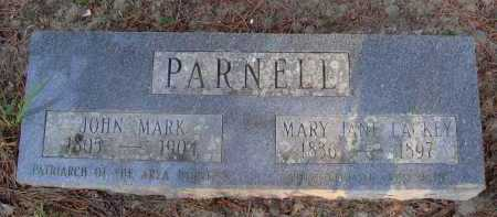 LACKEY PARNELL, MARY JANE - Baxter County, Arkansas | MARY JANE LACKEY PARNELL - Arkansas Gravestone Photos
