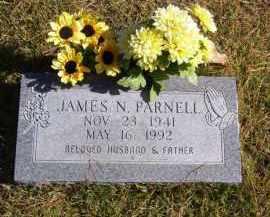 PARNELL, JAMES N. - Baxter County, Arkansas | JAMES N. PARNELL - Arkansas Gravestone Photos