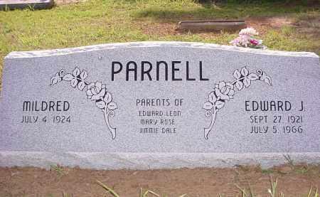 JONES PARNELL, MILDRED - Baxter County, Arkansas | MILDRED JONES PARNELL - Arkansas Gravestone Photos