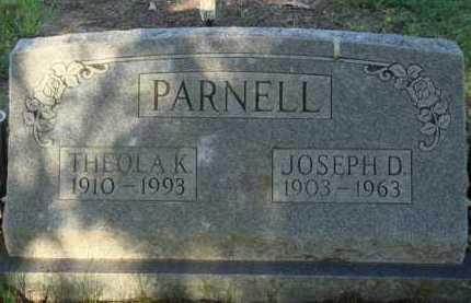 PARNELL, THEOLA K. - Baxter County, Arkansas | THEOLA K. PARNELL - Arkansas Gravestone Photos