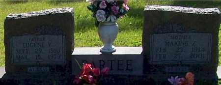 WEBBER PARTEE, MAXINE Z. - Baxter County, Arkansas | MAXINE Z. WEBBER PARTEE - Arkansas Gravestone Photos