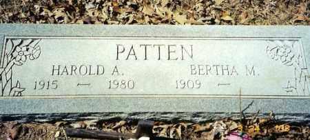 PATTEN, BERTHA M. - Baxter County, Arkansas | BERTHA M. PATTEN - Arkansas Gravestone Photos