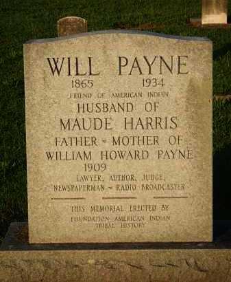 PAYNE, WILL - Baxter County, Arkansas | WILL PAYNE - Arkansas Gravestone Photos