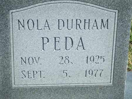 PEDA, NOLA - Baxter County, Arkansas | NOLA PEDA - Arkansas Gravestone Photos