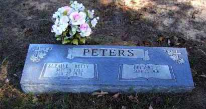 "SOUTHARD PETERS, SARAH E. ""BETTY"" - Baxter County, Arkansas 
