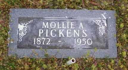 FRIX PICKENS, MOLLIE A. - Baxter County, Arkansas   MOLLIE A. FRIX PICKENS - Arkansas Gravestone Photos
