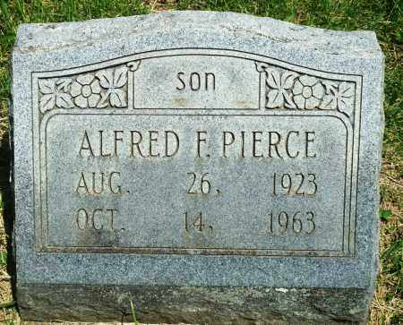 PIERCE, ALFRED F - Baxter County, Arkansas   ALFRED F PIERCE - Arkansas Gravestone Photos