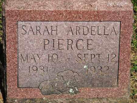 PIERCE, SARAH ARDELLA - Baxter County, Arkansas | SARAH ARDELLA PIERCE - Arkansas Gravestone Photos