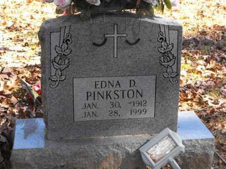 PINKSTON, EDNA D. - Baxter County, Arkansas   EDNA D. PINKSTON - Arkansas Gravestone Photos