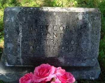 FIELDING POND, MARY CORA - Baxter County, Arkansas   MARY CORA FIELDING POND - Arkansas Gravestone Photos