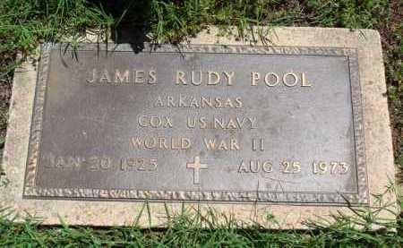 POOL  (VETERAN WWII), JAMES RUDY - Baxter County, Arkansas | JAMES RUDY POOL  (VETERAN WWII) - Arkansas Gravestone Photos