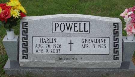 POWELL, HARLIN - Baxter County, Arkansas | HARLIN POWELL - Arkansas Gravestone Photos