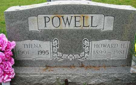POWELL, THENA - Baxter County, Arkansas | THENA POWELL - Arkansas Gravestone Photos