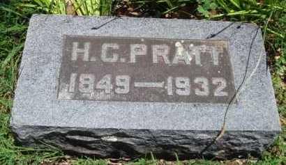 PRATT, H. G. - Baxter County, Arkansas | H. G. PRATT - Arkansas Gravestone Photos