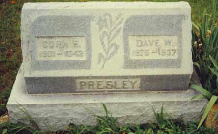 GLOER PRESLEY, CORA BELLE - Baxter County, Arkansas | CORA BELLE GLOER PRESLEY - Arkansas Gravestone Photos